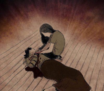 animated still of dead man