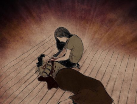 animated still of dead man